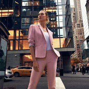 New Express Pink One Notch Blazer